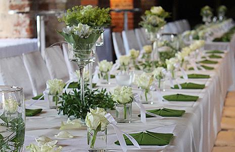 Ihre g rtnerei heinrich floristik in lindenberg for Raumdekoration hochzeit